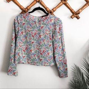 Zara | Floral print Blouse
